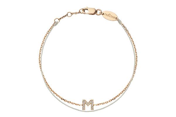 Cadeau LETTRES n° 10 - Bracelet initiale Redline.