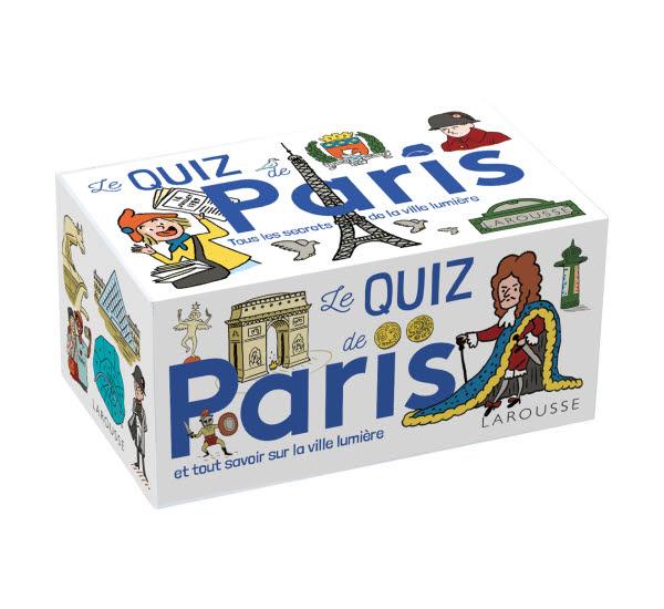 Cadeau LETTRE n° 12 - QUIZ Paris