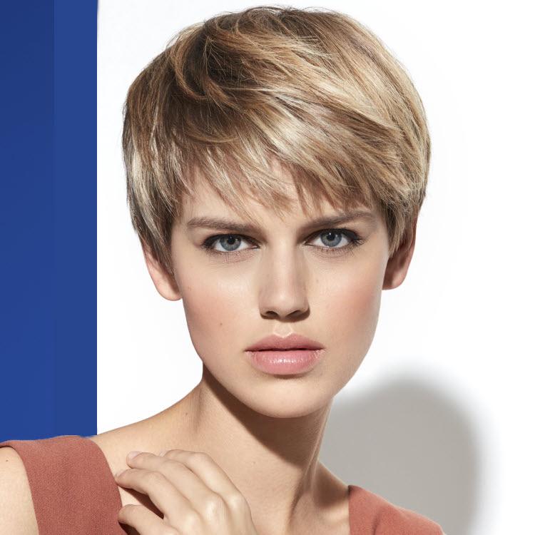 Coiffure cheveux courts INTERMEDE , Printemps,été 2019.