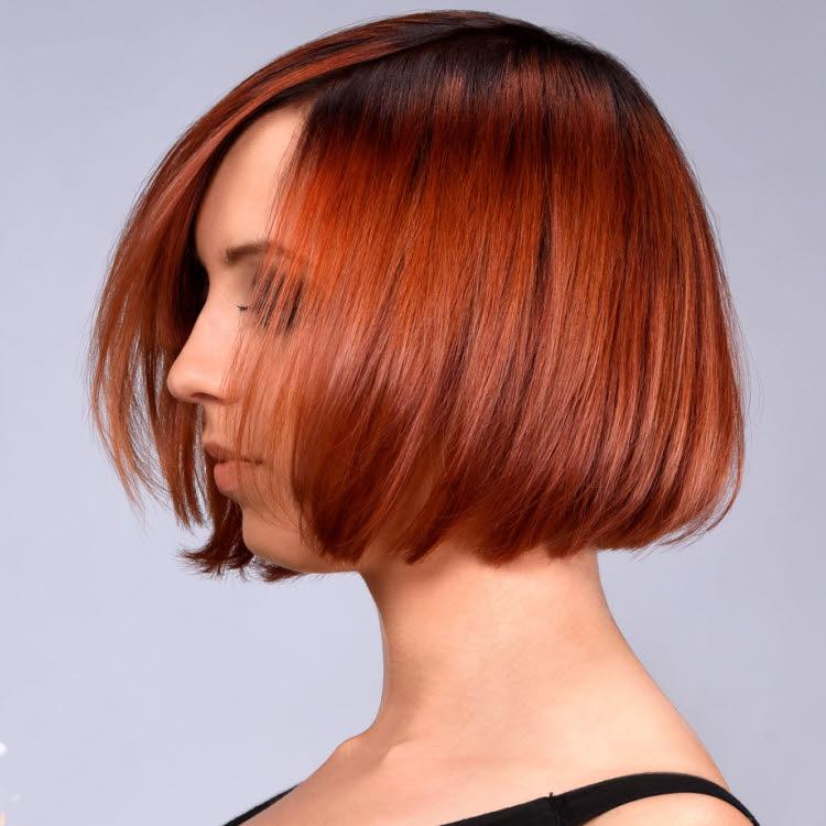 Coupe et coiffure cheveux mi-longs Yannick-&-Eric-LETURGIE - Printemps-été 2019.