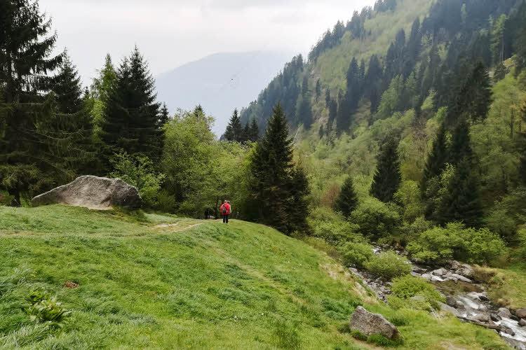 Sud Tyrol, au pied de la cascade de Parcines © ABCfeminin.com.