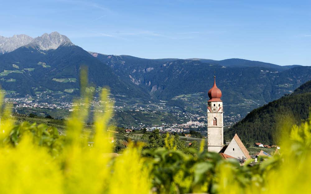 Parcines, dans le Sud Tyrol - Panorama.