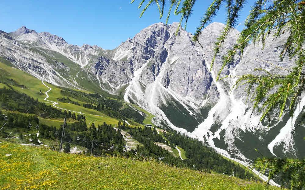 Vallée de Stubai au Tyrol panorama © ABCfeminin.com