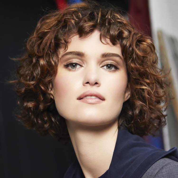 Coupe et coiffure cheveux mi-longs Fabio SALSA - Automne-hiver 2019-2020.