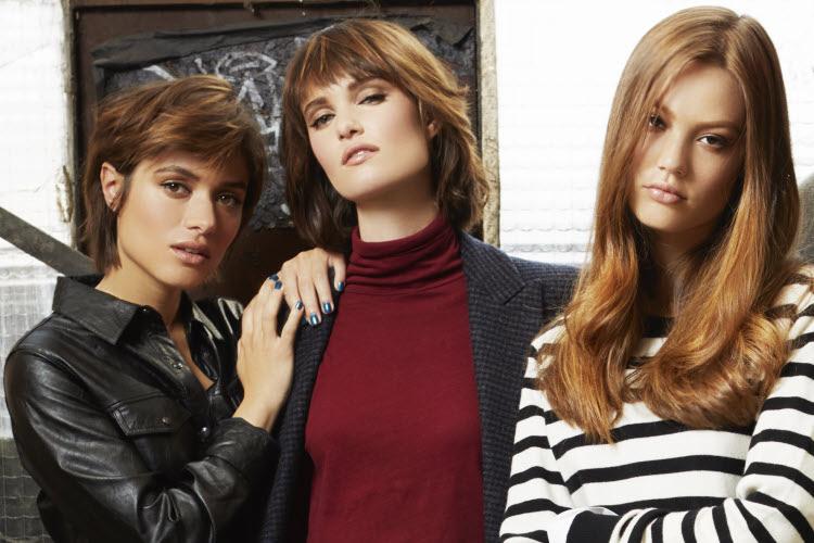 Choisissez entre 3 longueurs de cheveux - Coiffures Fabio SALSA - Automne-Hiver 2019-2020.