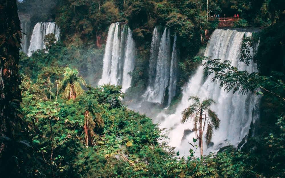 Les chutes d'Iguazu en Argentine