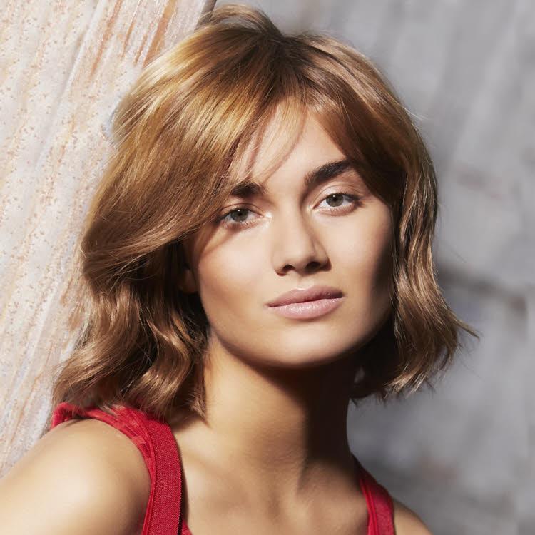 Coupe et coiffure pour cheveux mi-longs Fabio SALSA - Printemps-été 2020.