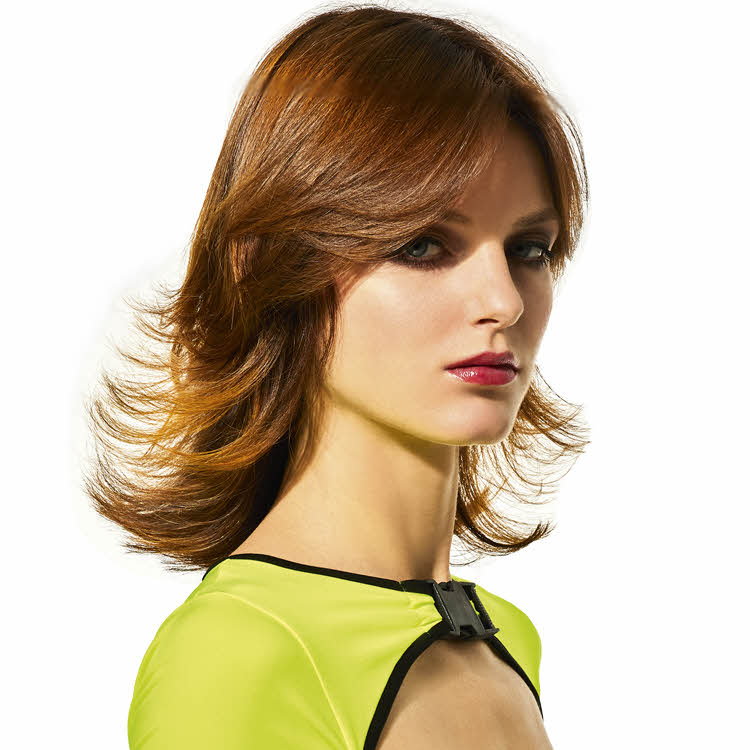 Coupe et coiffure pour cheveux longss SHAMPOO Expert - Printemps-été 2020.