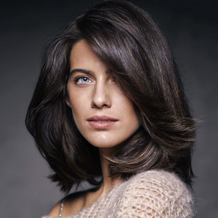 Coupe et coiffure pour cheveux longs Jean-Louis DAVID - Printemps-été 2020.