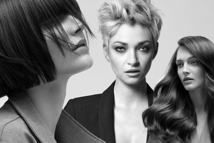 Choisissez entre 3 longueurs de cheveux - Coupes DESSANGE Paris et Cathy BATIT - Printemps-été 2020.