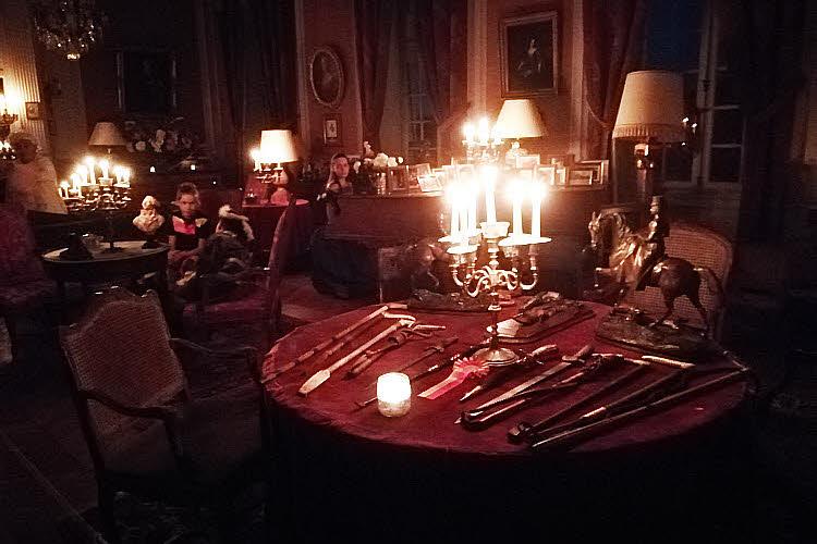 Visite nocturne au château de Saint-Fargeau © ABCfeminin.com.