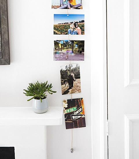 Porte-photos magnétique