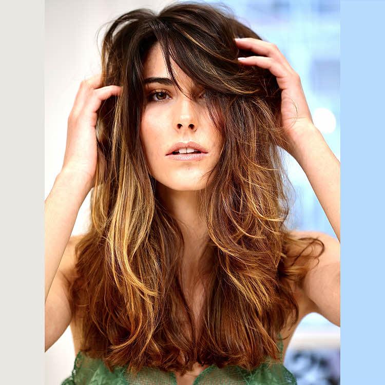 Coupe et coiffure pour cheveux longs BIGUINE Paris - Printemps-été 2021.