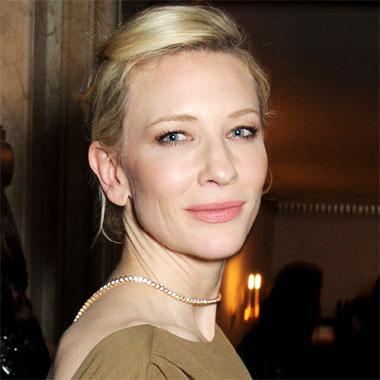 L'actrice Cate Blanchett, femme de l'année 2013