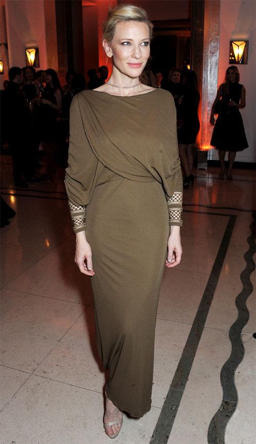 L'actrice Cate Blanchett, élue femme de l'année 2013 par Harper's Bazaar