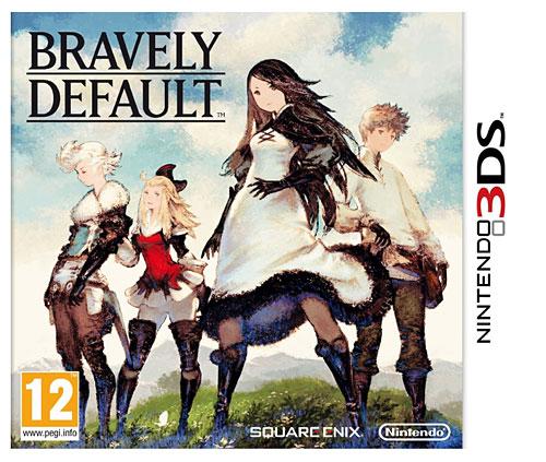 Jeu Bravely Default pour 3DS