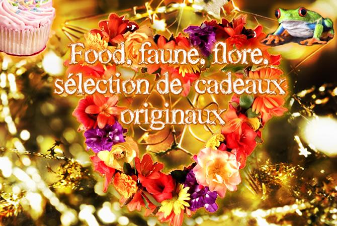 idées cadeaux pour un Noël 2013 : food, faune, flore
