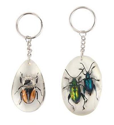Idée cadeau de Noël FAUNE n° 15 - Porte-clés insecte Monsieur HONORÉ