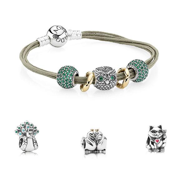 Bracelet pandora chouette hibou
