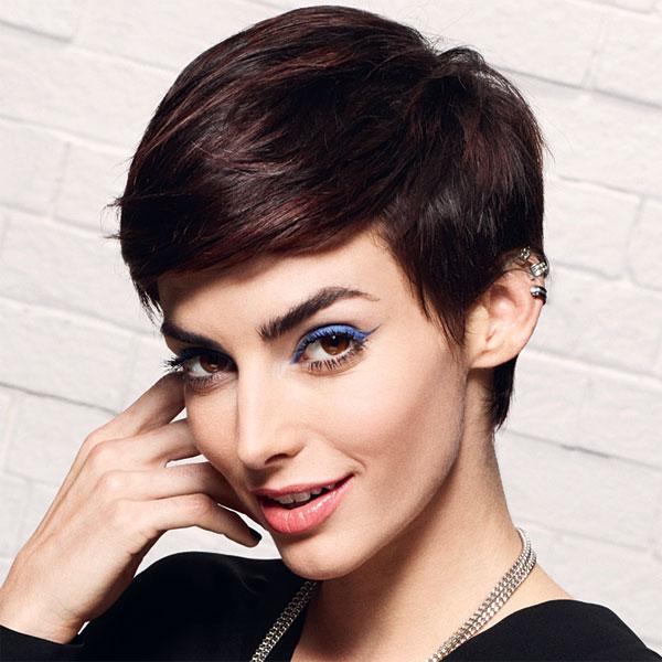 Coiffure cheveux courts Camille ALBANE - printemps-été 2014
