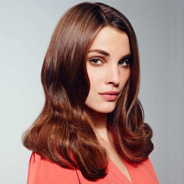 Coiffure cheveux longs ondulés INTERMEDE - printemps-été 2014