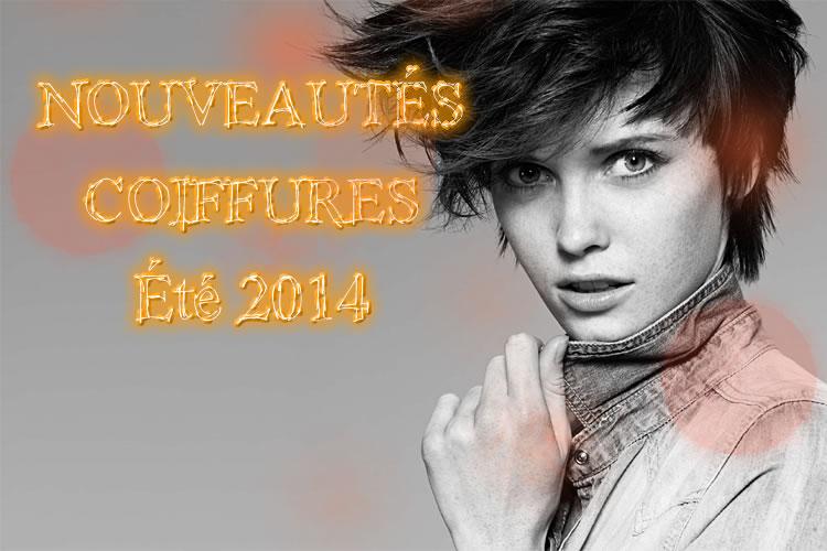 Nouvelles coupes et coiffures tendances Printemps-été 2014
