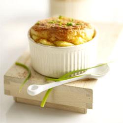 Soufflé gourmand au fromage Boursault