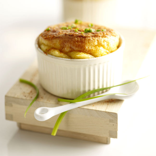 Zoom Soufflé gourmand au fromage Boursault