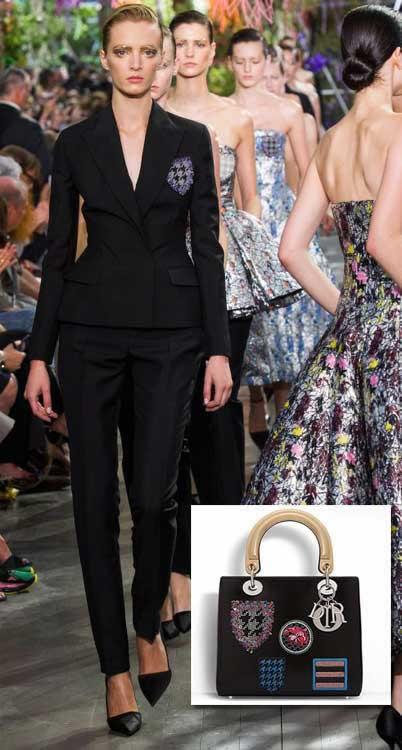 Les écussons : collection printemps-été 2014 Dior