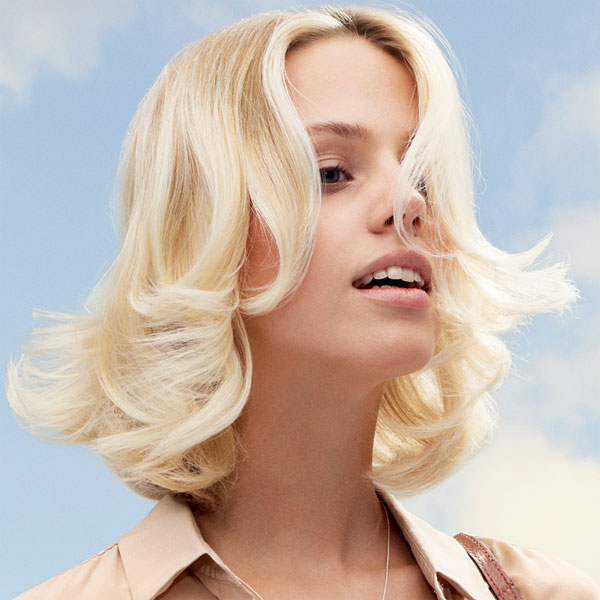 Coiffure cheveux mi-longs - DESSANGE Paris - tendances printemps-été 2014