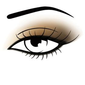 Maquillage classique en éventail par Make Up For Ever