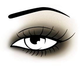 Maquillage smoky par les experts en maquillage Make Up For Ever