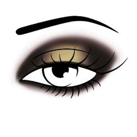 Maquillage smoky contrasté par les experts en maquillage Make Up For Ever