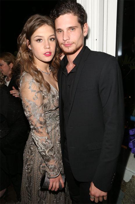 Adèle EXARCHOPOULOS et Jérémie LAHEURTE au Festival de Cannes 2014