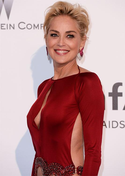 Sharon STONE au Festival de Cannes 2014