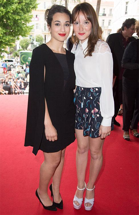 Camelia JORDANA et Anais DEMOUSTIER au Festival de Cannes 2014