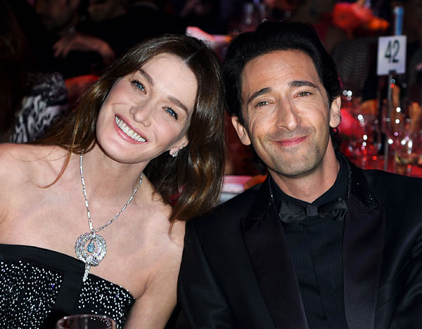 Adrien BRODY et Carla BRUNI au Festival de Cannes 2014