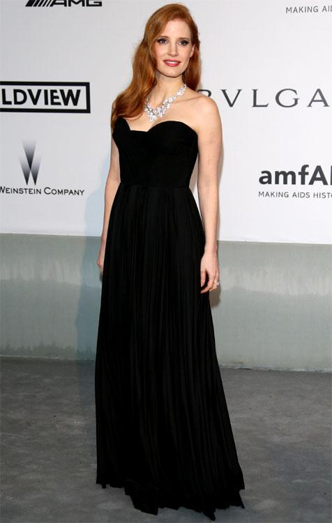 Jessica CHASTAIN au Festival de Cannes 2014