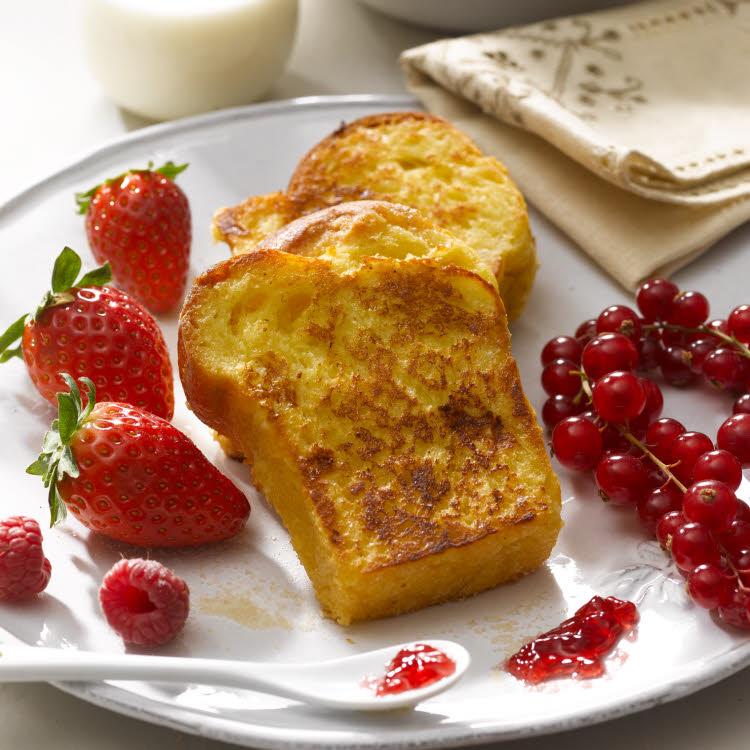 recette de toujours : Pains perdus dorés aux œufs