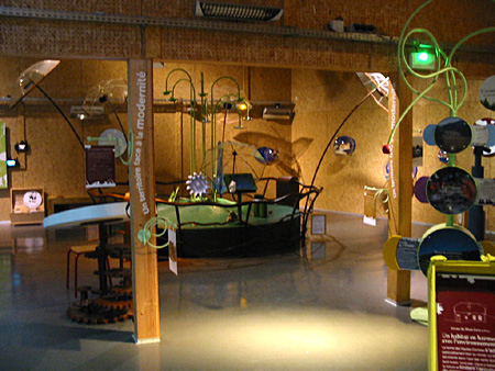 Maison du Parc du HAUT-JURA, espace pédagogique (D.R.)