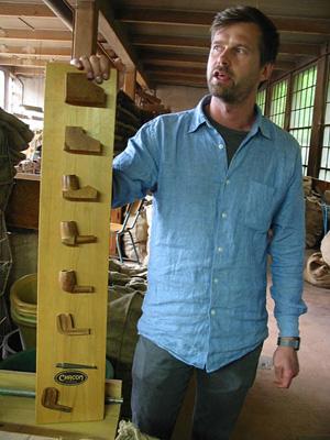 Antoine Grenard a pris la succession de son père à la tête de la fabrique de pipes Chapuis-Comoy (D.R.)