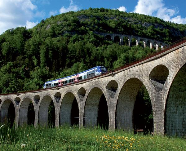 Ligne des Hirondelles © CRT Franche Comté