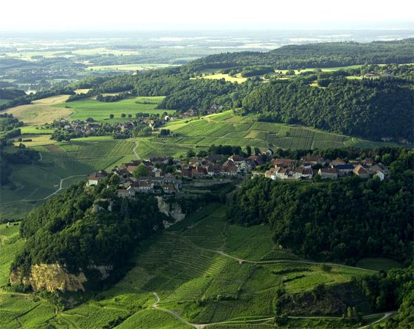 Vignoble de Château-Chalon (© CRT Franche-Comté / Stéphane GODIN)