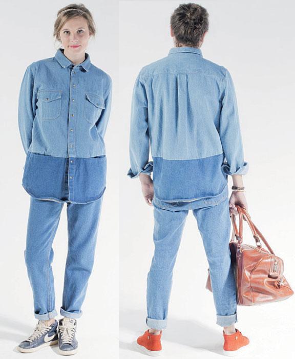 TENDANCE CLÉ de l'été 2015 - Le look twins - Chemise + pantalon LES EXPATRIÉS