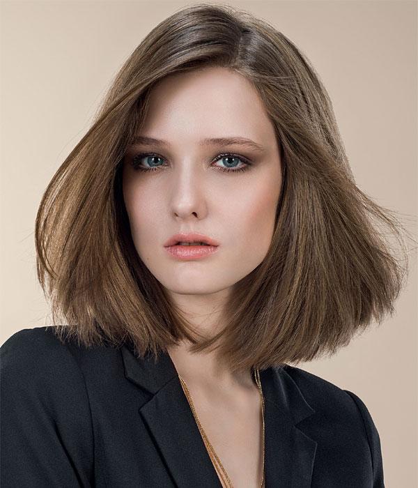 Cheveux fins et mi-longs - Coiffure INTERMEDE - automne-hiver 2014-2015