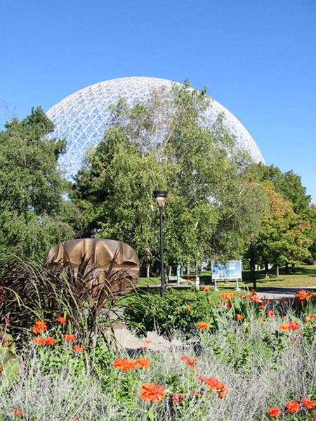 La Biosphère de Montréal sur l'île Saint-Hélène (D.R.)