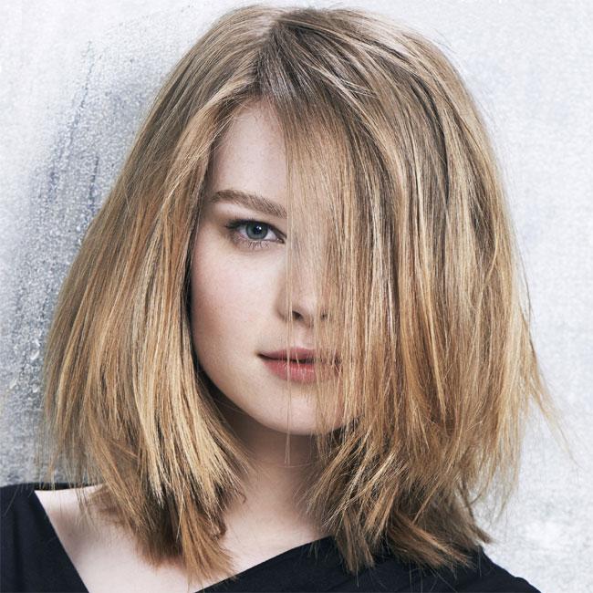 Coiffure cheveux mi-longs - FABIO SALSA - tendances automne-hiver 2014-2015