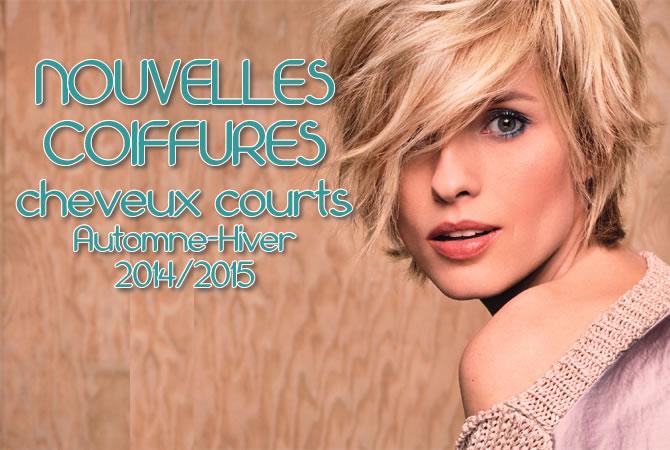 Hiver 2015 : CHEVEUX COURTS - toutes les nouvelles créations coiffures - Coiffure Camille ALBANE