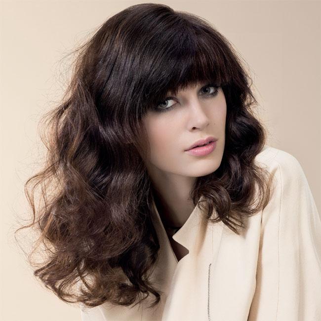 Coiffure cheveux longs - INTERMEDE - tendances automne-hiver 2014-2015