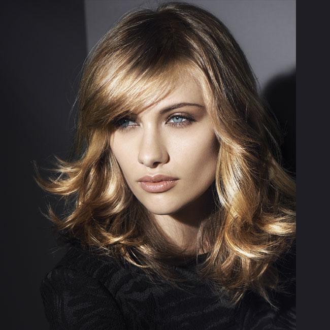 Coiffure cheveux longs - DESSANGE Paris - tendances automne-hiver 2014-2015